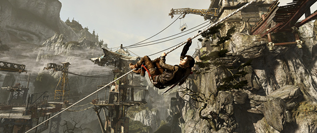 """Screen shot from most recent """"Tomb Raider"""" game (Flickr)"""