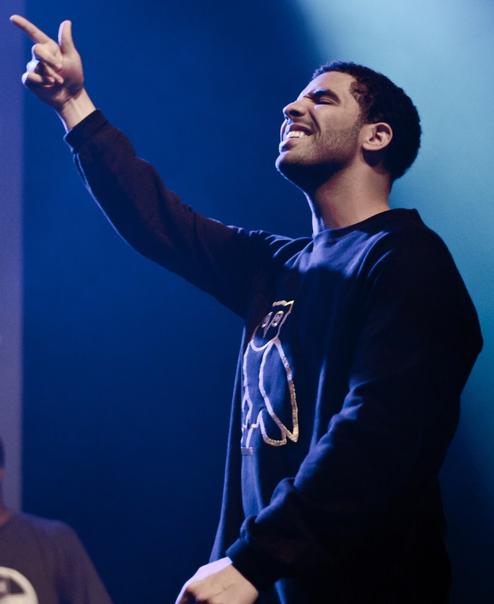 Drake is seen at the Sound Academy, Toronto, Ontario, Canada on Aug. 11, 2011. (Skeezix1000/Creative Commons)