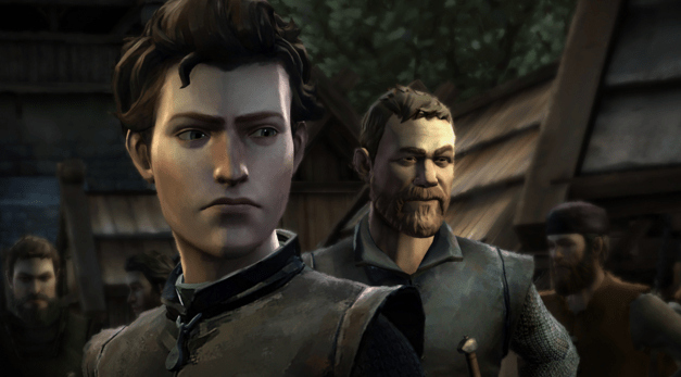 """A scene from Telltale's """"Game of Thrones"""" video game. (Courtesy/Telltale)"""