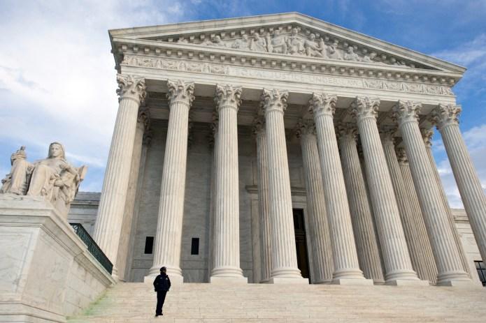The Supreme Court is seen in Washington, Wednesday, Feb. 17, 2016. (AP Photo/J. Scott Applewhite)