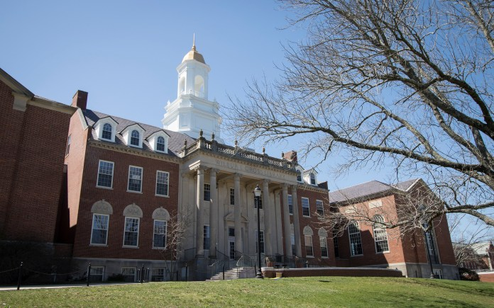 The Wilbur Cross Building on the UConn campus in Storrs, Connecticut. (Jackson Mitchell/The Daily Campus)