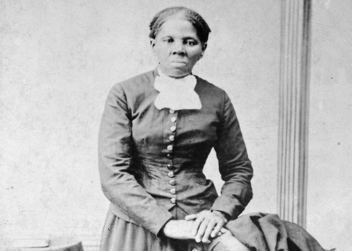 This image provided by the Library of Congress shows  Harriet  Tubman , between 1860 and 1875. A Treasury official said Wednesday, April 20, 2016, that Secretary Jacob Lew has decided to put  Tubman on the $20 bill, making her the first woman on U.S. paper currency in 100 years. (H.B. Lindsley/Library of Congress via AP)