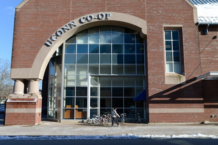UConn announced on March 11 that it would be dropping the bookstore. After months of campaigns and debate, the decision was painful for many. (Jason Jiang/Daily Campus)