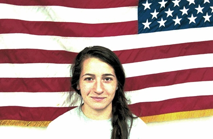 Dominique Dimaria, already graduated in December, will be joining the U.S. Army Reserves as part of the Officer Candidate Program. (Courtesy/UConn ROTC)