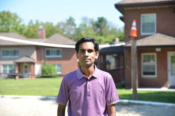 Suraj Krishna, a seventh-semester mechanical and aerospace engineer major, started sober driving in the fall of 2015. Krishna is unique in that he drives for the benefit of others and doesn't charge his riders. (Amar Batra/The Daily Campus)