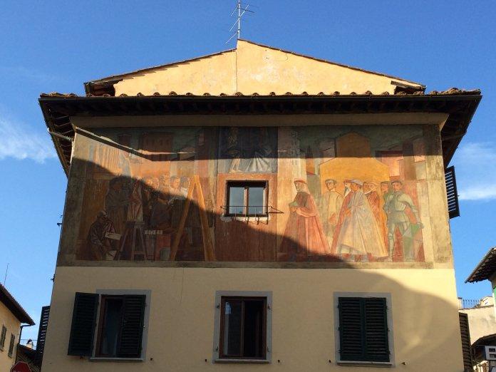 Murals are ever popular in Italian culture.(Sten Spinella/The Daily Campus)