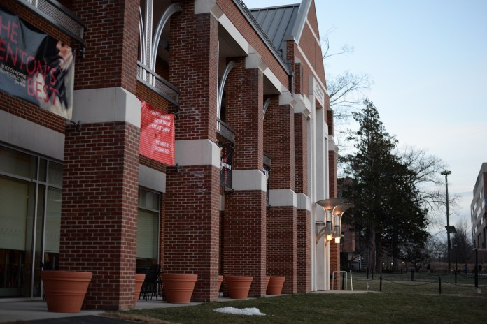 The Benton Museum has a new exhibit on flags through the presidential campaigns. (Amar Batra/ The Daily Campus)