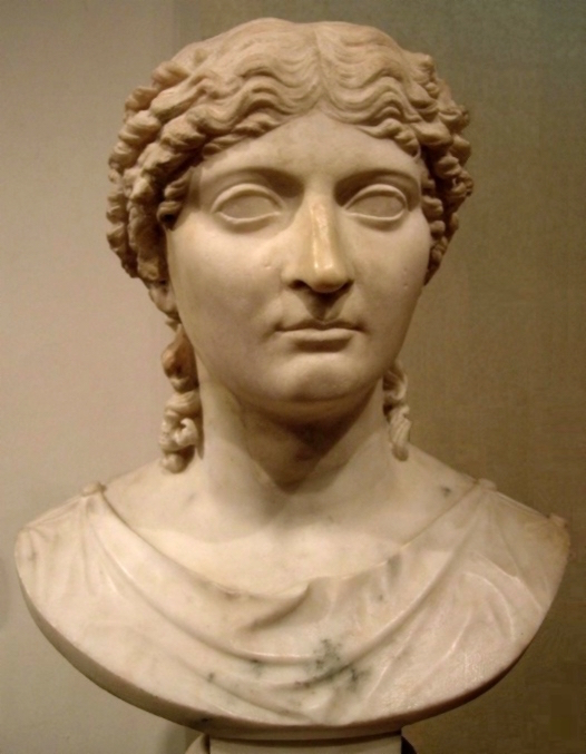 A statue of Roman Empress Julia Agrippina, mother of Nero located in the Warsaw National Museum (Photo courtesy of Warsaw National Museum)