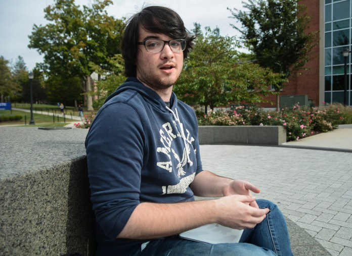 """""""I didn't watch. It's just such a crazy election this year that I try to avoid it as best I can. Both sides are crazy, I think. Anything from the Trump side just sounds like an Onion article and anything from the Clinton side, I just kinda go '...really?'""""   -Andre Miller, fifth-semester anthropology major"""