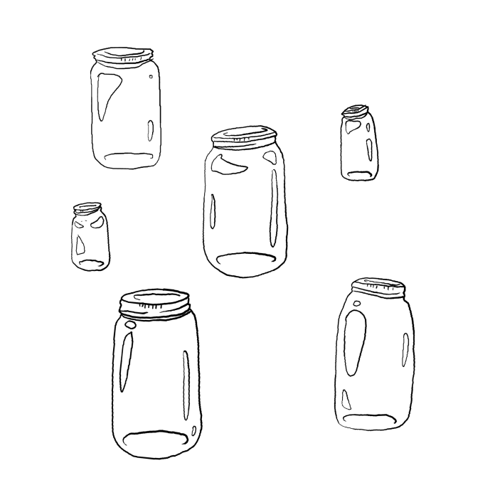 Thanks to recent trends the beverage industry has now made the mason jar a staple in every kitchen. (Illustration/Alex Wood)