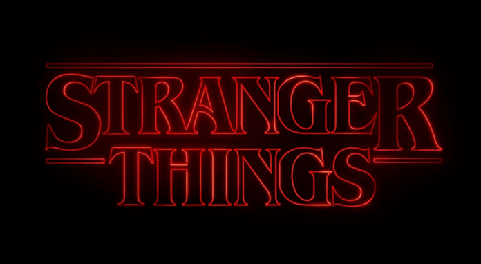 """A screenshot from the theme of """"Stranger Things"""" created by The Duffer Brothers. Photo courtesy of Wikipedia Creative Commons."""