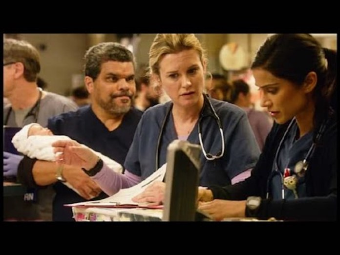 """The CBS medical drama series """"Code Black"""" is back for its second season.This still shows a scene from season one, episode 16. (Screenshot/YouTube)"""