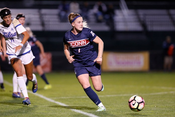 Huskies stay strong against Tulsa   Sept. 29