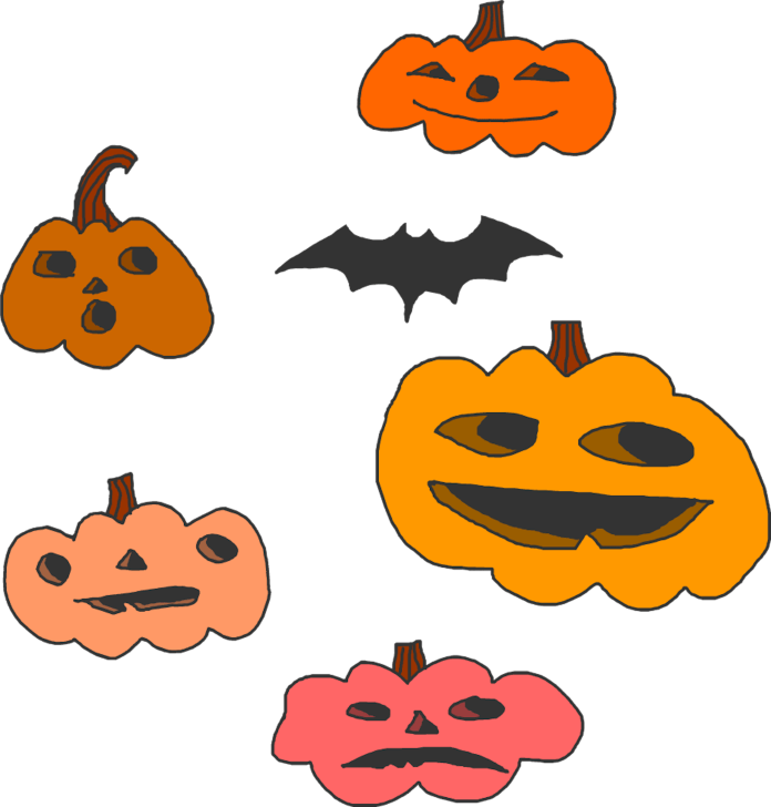 Not carving your pumpkins doesn't mean you can't decorate your living space with pumpkins and squash. It just means you should eat them before they go bad. Here are a couple ways to put your unused pumpkins to good use. (Illustration/Alex Wood)
