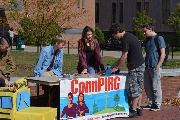 UConn PIRG works to represent the public interest and bring social change. The organization has organized spare change drives and trips to soup kitchens.(File Photo/The Daily Campus)
