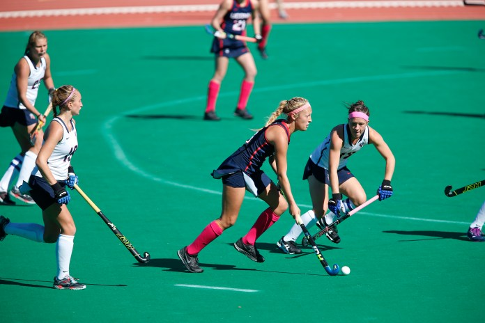 UConn takes on Liberty University on Saturday's game and win 7-2. (Tyler Benton/The Daily Campus)