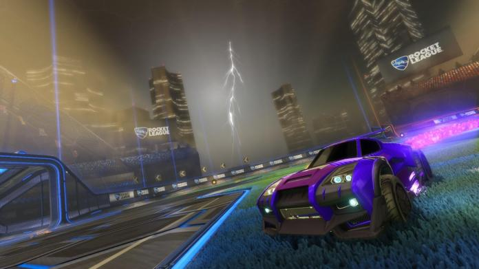 """""""Rocket League"""" is a simple sport-oriented e-sport that might pave the way for the future of e-sports in America. (Screenshot via  rocketleaguegame.com )"""
