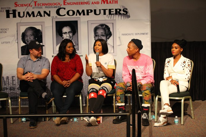 Hidden Figures tells the story of three African American women – Katherine Johnson, Mary Jackson and Dorothy Vaughan – who were critical members of the teams at NASA that worked to successfully launch John Glenn into orbit, as the first American astronaut to do so. (NASA Kennedy/Flickr Creative Commons)