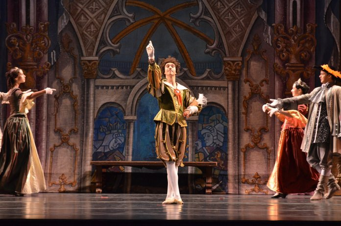 """The Russian National Ballet Theatre brought the classic fairytale """"Sleeping Beauty"""" to life at the Jorgensen Center for the Performing Arts Thursday night. (Akshara Thejaswi/The Daily Campus)"""