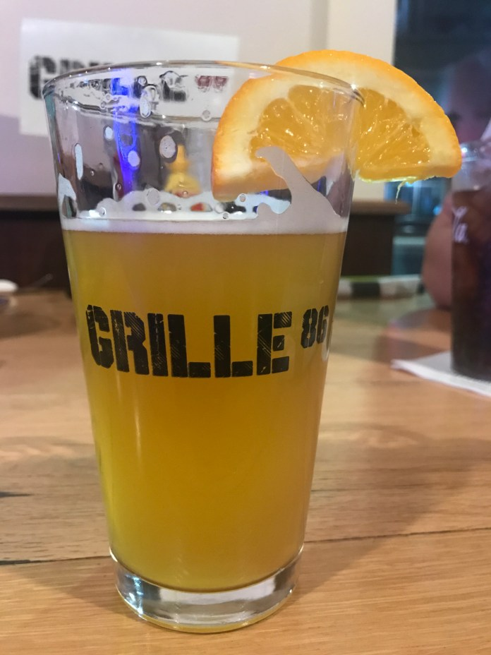 Grille 86 recently opened in Storrs Center with 24 beers on tap and a full menu. (Francesca Colutri/The Daily Campus)