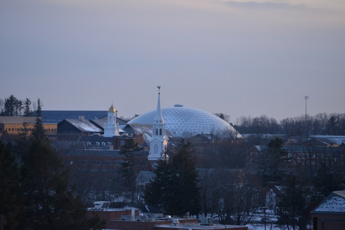 Eighty-four percent of the class of the 2021 are in the top fourth of their high school graduating class; 54 percent are in the top 10 percent of their class, a new high for UConn's admitted students. (Amar Batra/The Daily Campus)