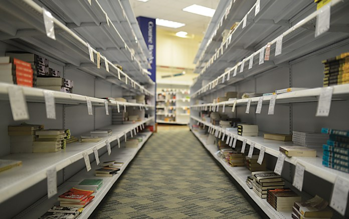 The bookstore renovations include a lounge on the second floor. (File photo/The Daily Campus)