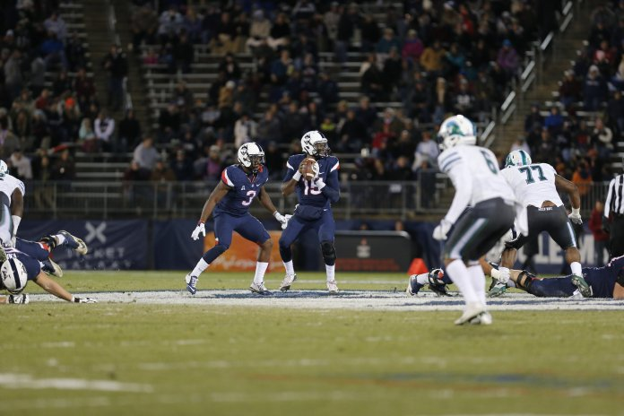 The University of Connecticut football team had a short-lived experience with Sophomore Donovan Williams. (File Photo/The Daily Campus)