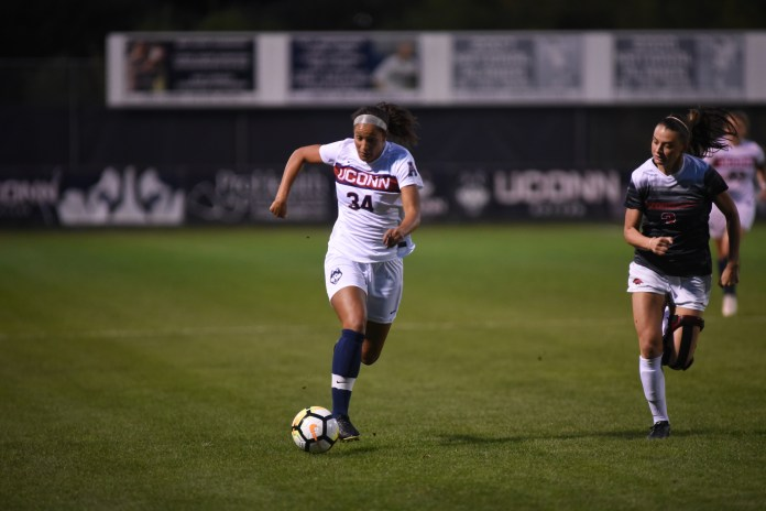 UConn women's soccer will take on Long Beach State on Thursday, September 14. (Charlotte Lao/The Daily Campus)