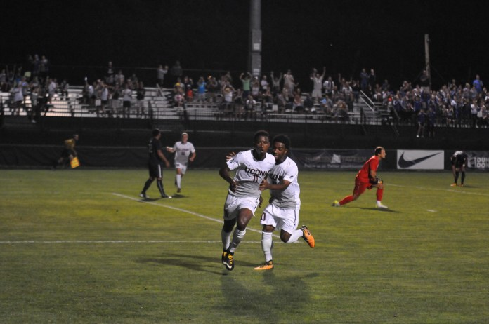 UConn picked up a conference win over Temple away from Morrone Stadium (Jon Sammis/The Daily Campus)