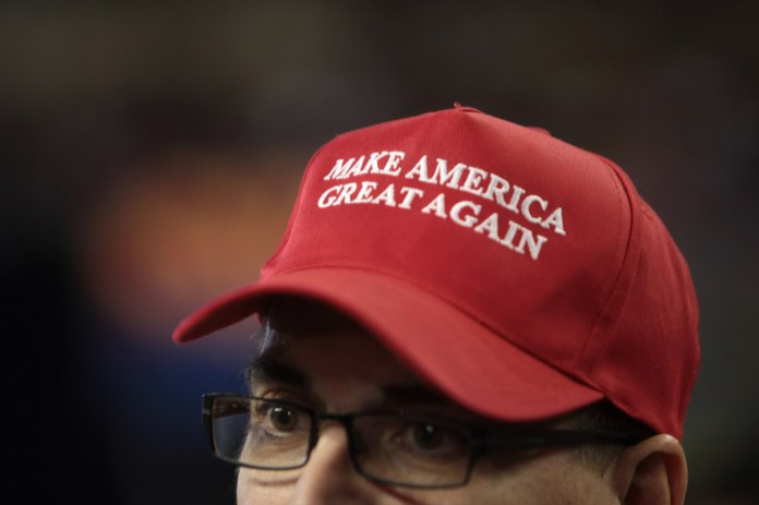"""This week, Daily Campus opinion columnist discusses President Donald Trump's slogan """"Make America Great Again!"""" and the numerous brands and people who reprinted it to serve their own messages.(Gage Skidmore/Creative Commons)"""