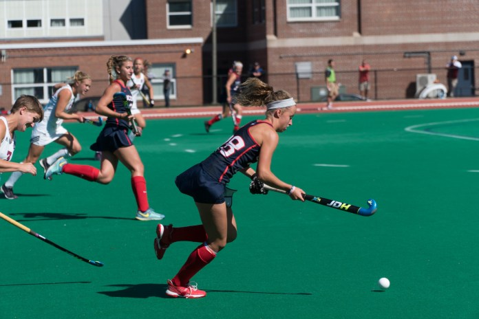 With a pair of wins the UConn Huskies finished the regular season undefeated (Eric Wang/The Daily Campus)