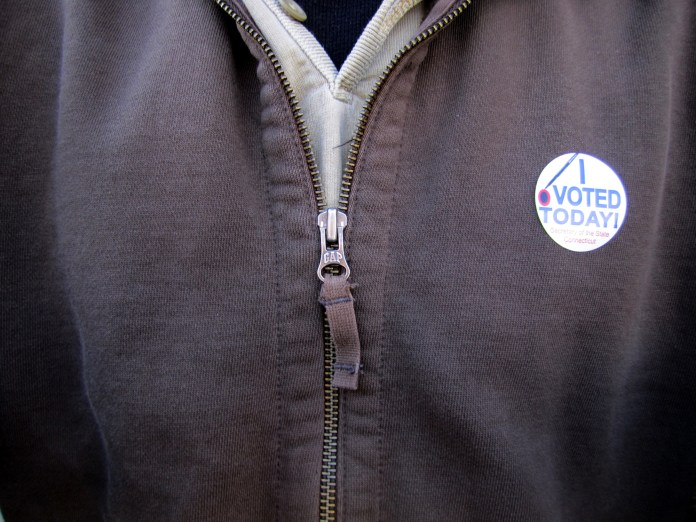Tuesday, Nov. 7, 2017 is Election Day. Voter turnout is expected to be low since it's an off-year election.(VJnet/Creative Commons)