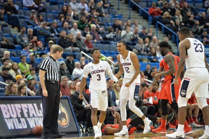 The Huskies look to regroup from the PK80 with a home game against Columbia at the XL Center.