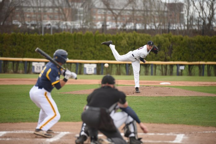 The two teams will battle it out Tuesday at 3:00 p.m. on the CCSU baseball field. (File/The Daily Campus)