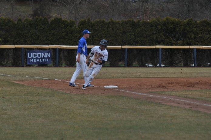 Weather permitting, the series kicks off at 1 p.m. on Friday at J.O. Christian Field, followed by a game on Saturday at 1 p.m. and a Sunday morning start of 11 a.m. (Jon Sammis/The Daily Campus)