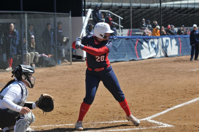 Softball will look to bounce back after a midweek loss at Boston College (Jon Sammis/The Daily Campus)