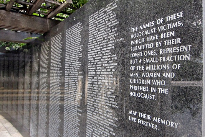 The Holocaust Memorial of the Greater Miami Jewish Federation, located at at Meridian Avenue and Dade Boulevard, seeks to serve as a daily reminder of the victims of the Holocaust. ( Wally Gobetz /Flickr)