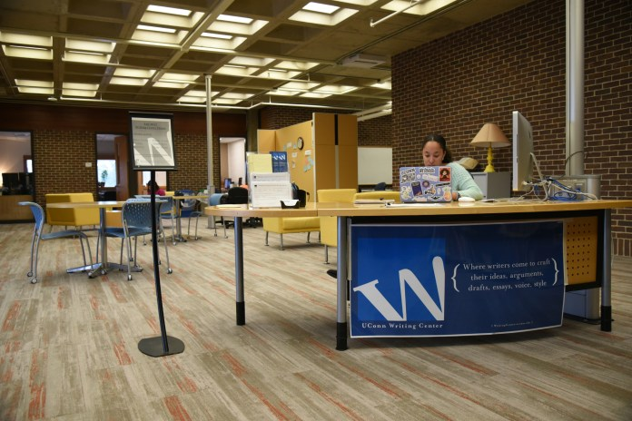 The W Center can be a great resource for writing assingnments (Charlotte Lao/The Daily Campus)