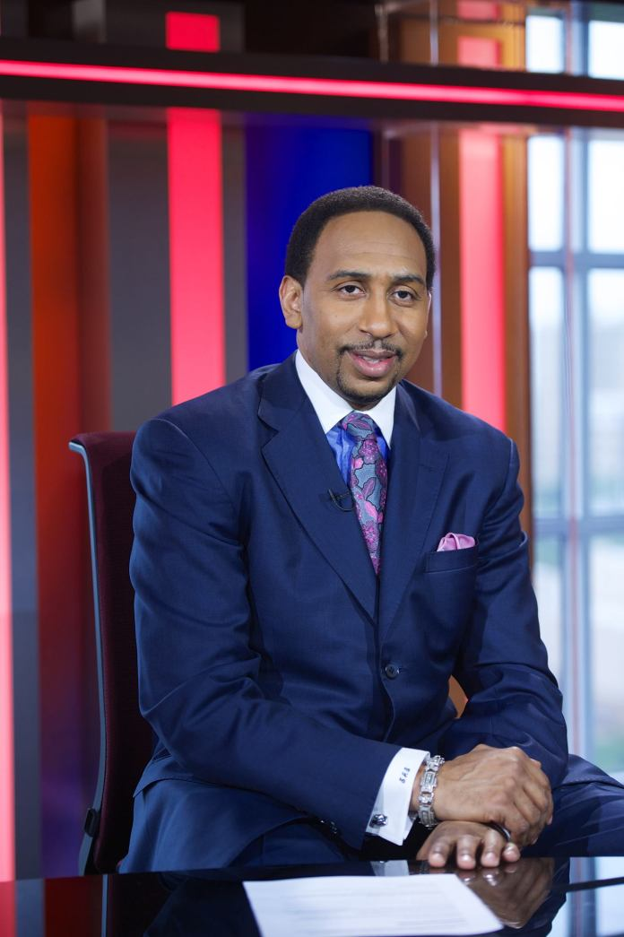ESPN TV personality Stephen A. Smith brings jokes and advice to students for Spring Weekend at the Jorgensen Center for the Performing Arts on Friday night.(Stephen A. Smith Facebook page)