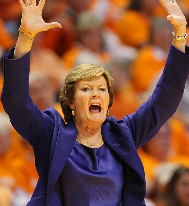 Pat Summit won eight championships and 1,098 games during her tenure as Tennessee's Women's Basketball coach. (Charles Perkins/Flickr, Creative Commons)