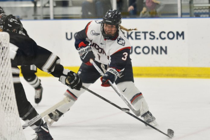 File Photo- UConn split their weekend against New Hampshire and Holy Cross. (Jon Sammis/ The Daily Campus)
