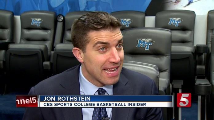 Jon Rothstein, CBS Sports College Basketball Insider (Youtube.com)