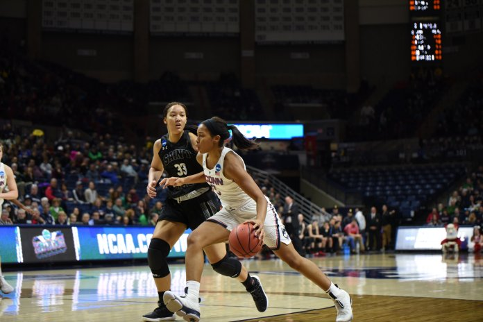 Will UConn women's basketball capture their 12th National Championship this year? (Charlotte Lao/ The Daily Campus)
