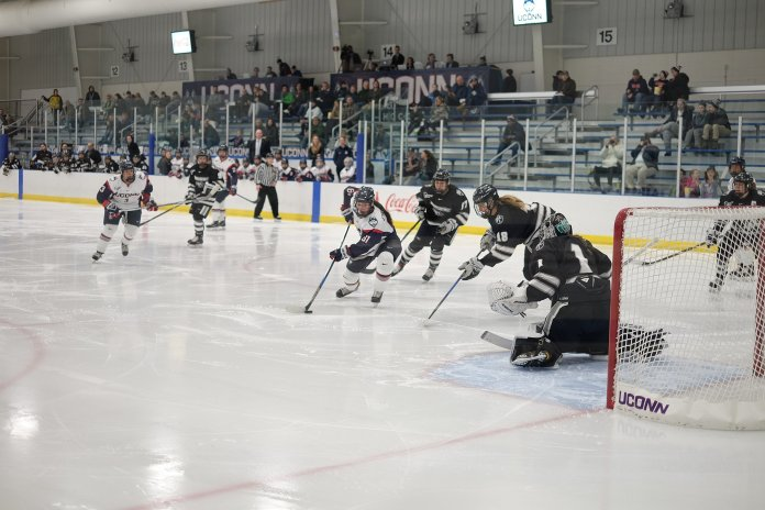 UConn's plans for a new hockey arena will cost $45 million and have a maximum of 3,500 seats if expanded. (File Photo/ The Daily Campus)