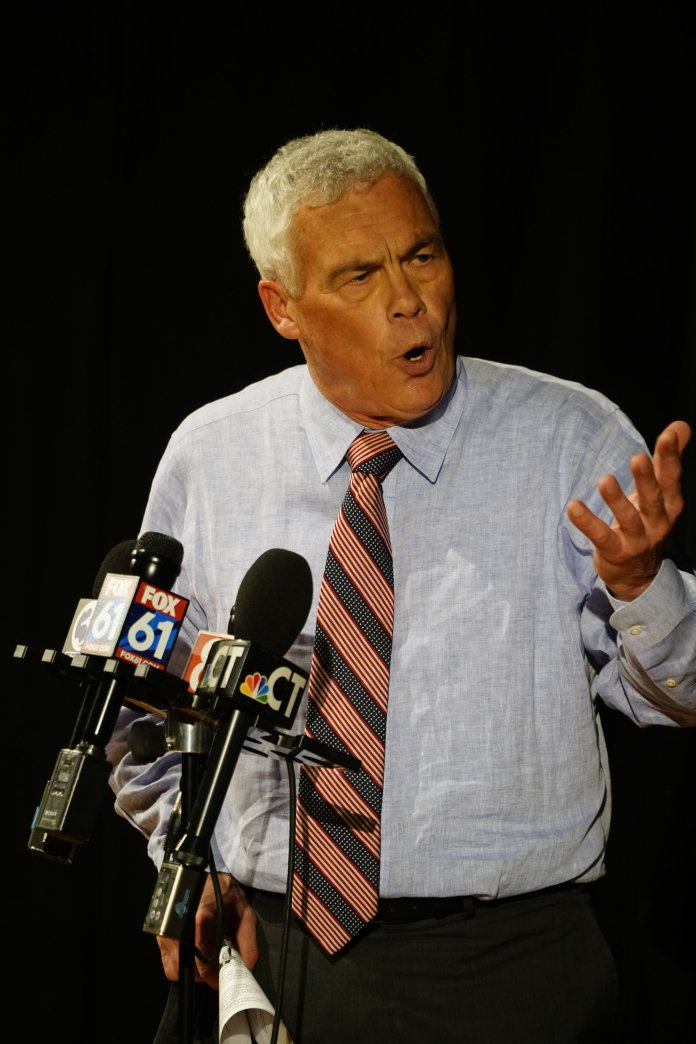 While Griebel did not say if he was in direct support of either Stefanowski or Lamont, as he was focused on his own campaign during the election, he emphasized the importance of respecting Ned Lamont and fellow winners for the good of the state. (Eric Wang/The Daily Campus)