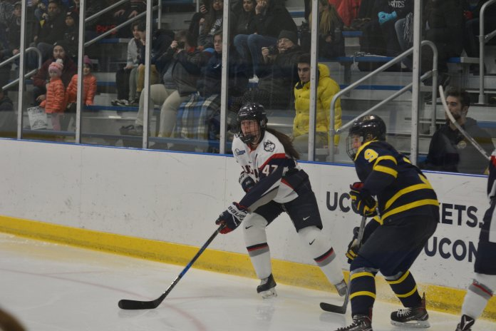 FILE-UConn will host a pair of conference rivals at the Freitas Ice Forum this weekend. (Jon Sammis/ The Daily Campus)