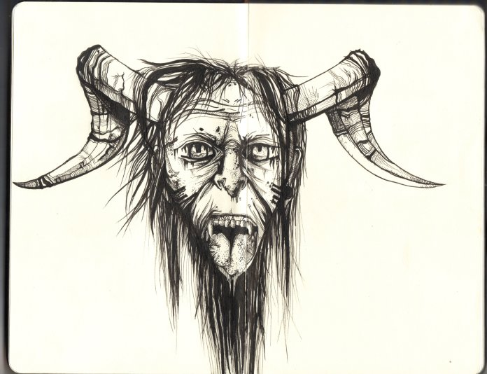 Merry Krampus to all and to all a sleepless night. ( Sarah/ Flickr, Creative Commons )