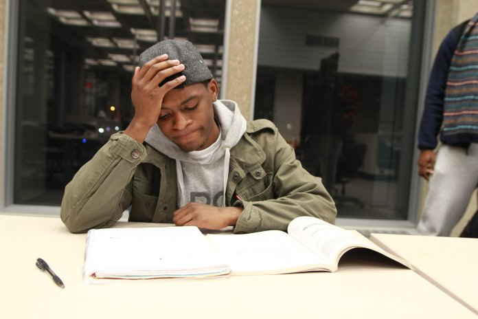 Although other mental health concerns like panic attacks are not immediately related to stress, but those who experience this issue often see an increase in attacks at this time of year. (File/The Daily Campus)