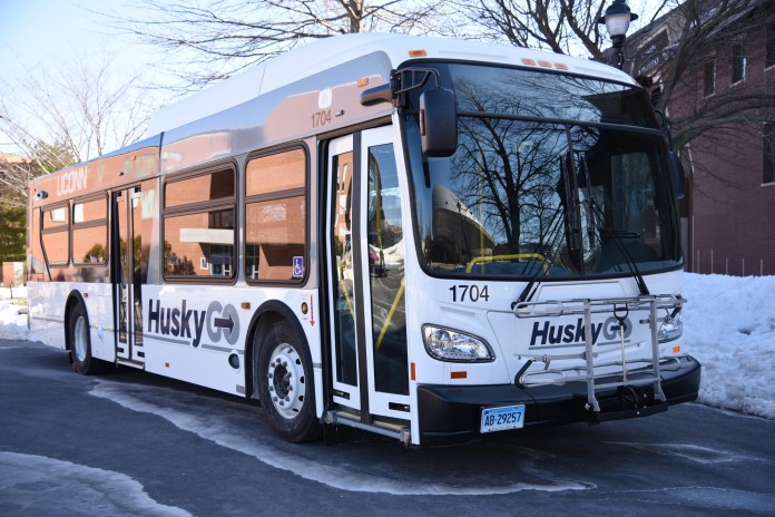 After some early uproar, the UConn bus lines are changing. (Charlotte Lao/The Daily Campus)