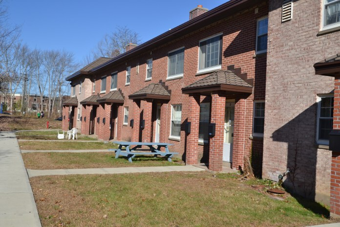 Mansfield Apartments are having water issues (File Photo/The Daily Campus)